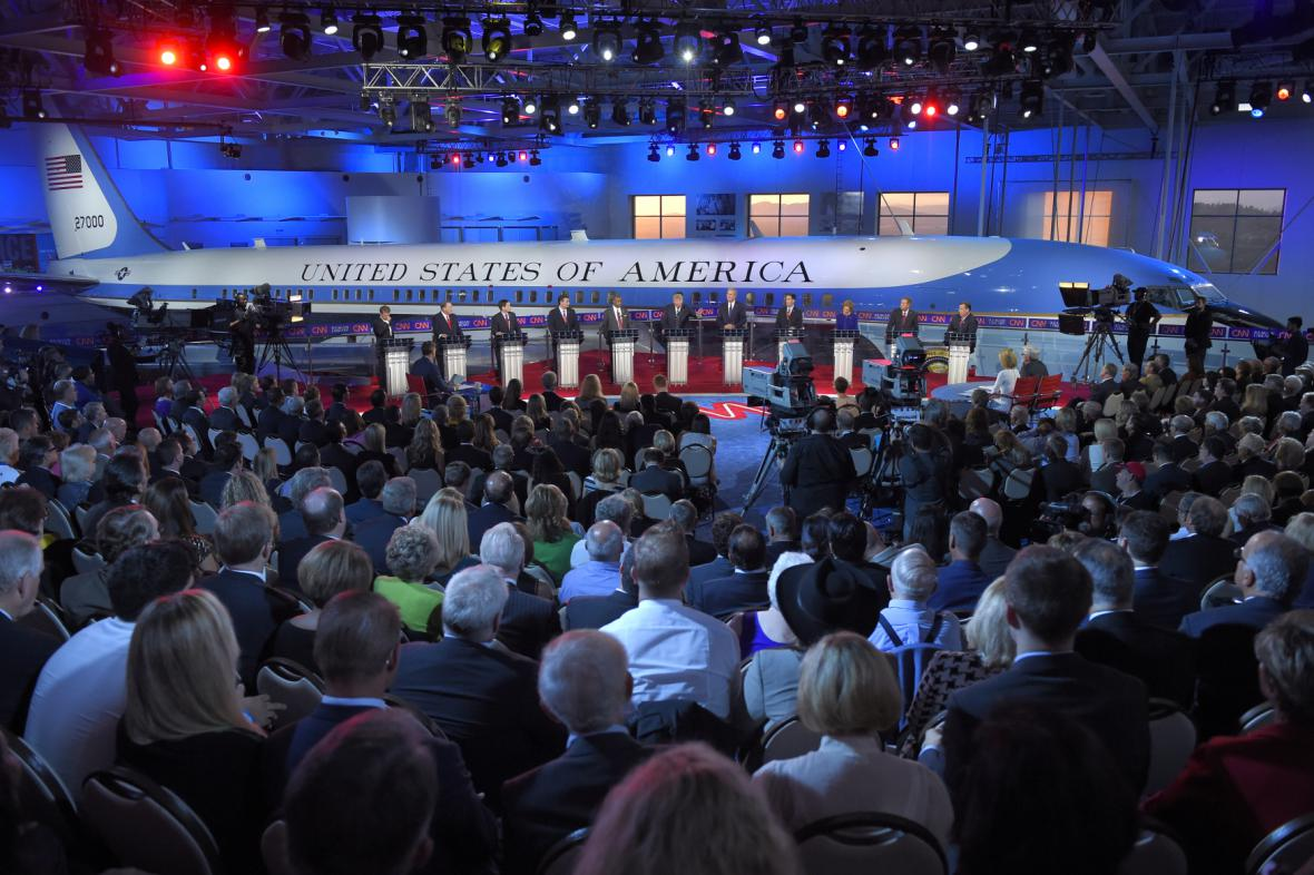 Debata republikánů na CNN
