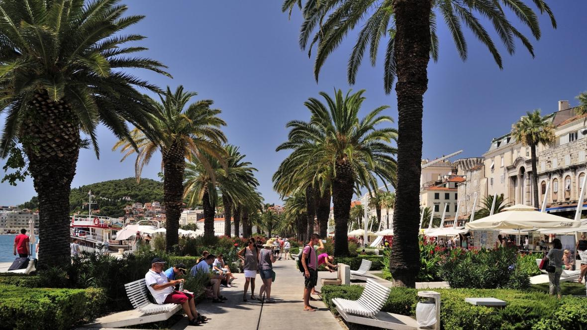 Split v Chorvatsku