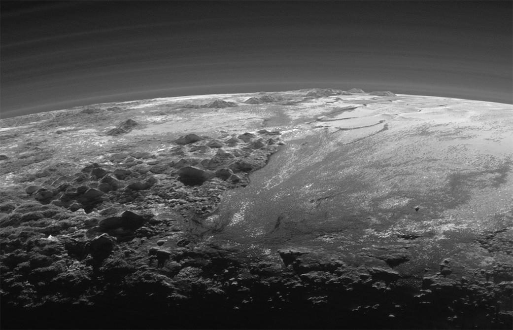 Nové snímky Pluta