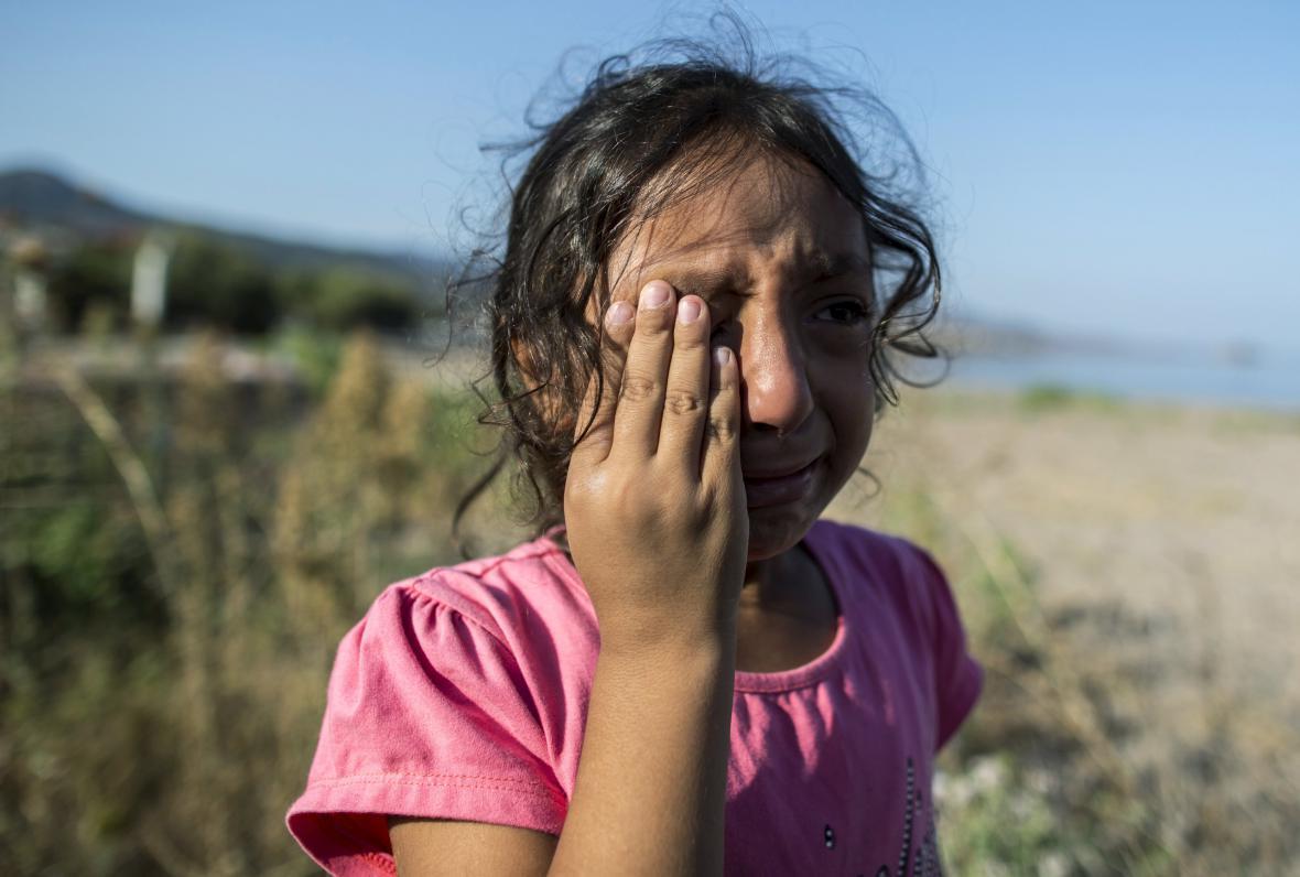 Syrská uprchlice