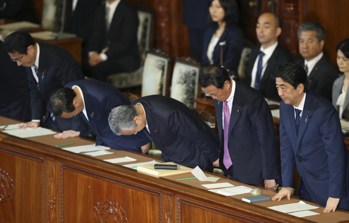 Japonská vláda