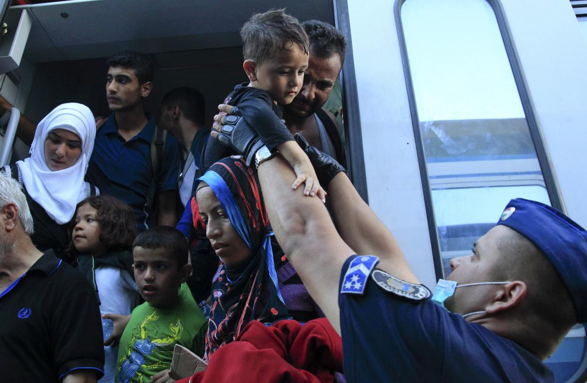 Migranti dorazili z Chorvatska na maďarskou hranici