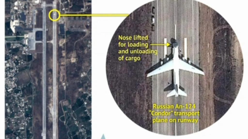 Ruská vojenská technika v Sýrii
