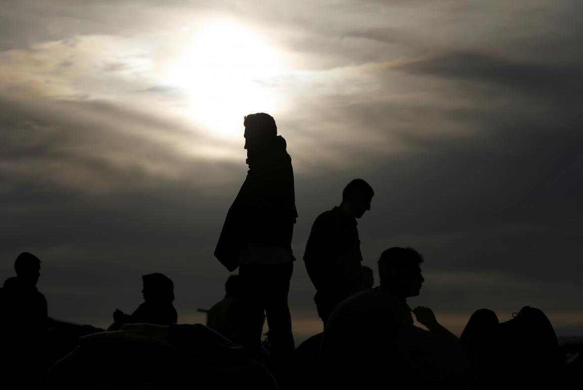 Uprchlíci na balkánské cestě do Evropy