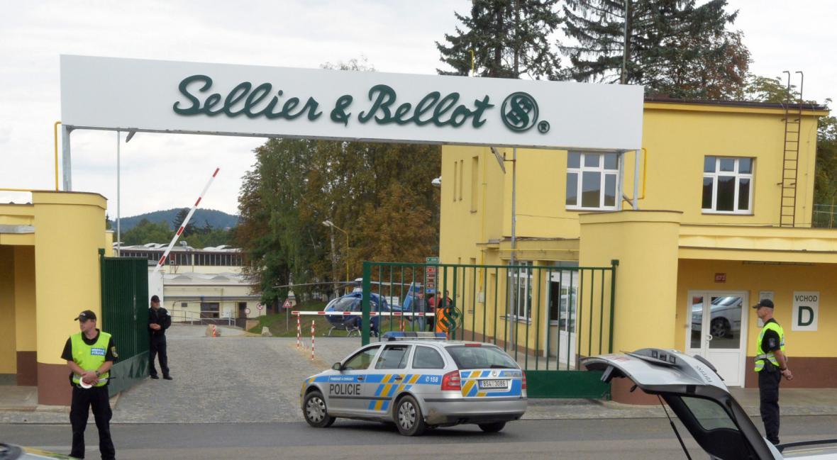 Výbuch v areálu Sellier&Bellot ve Vlašimi