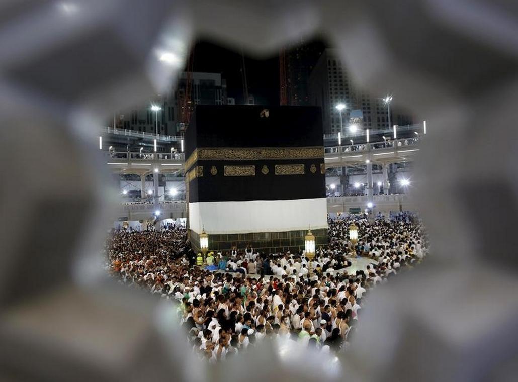 Obřad ve Velké mešitě
