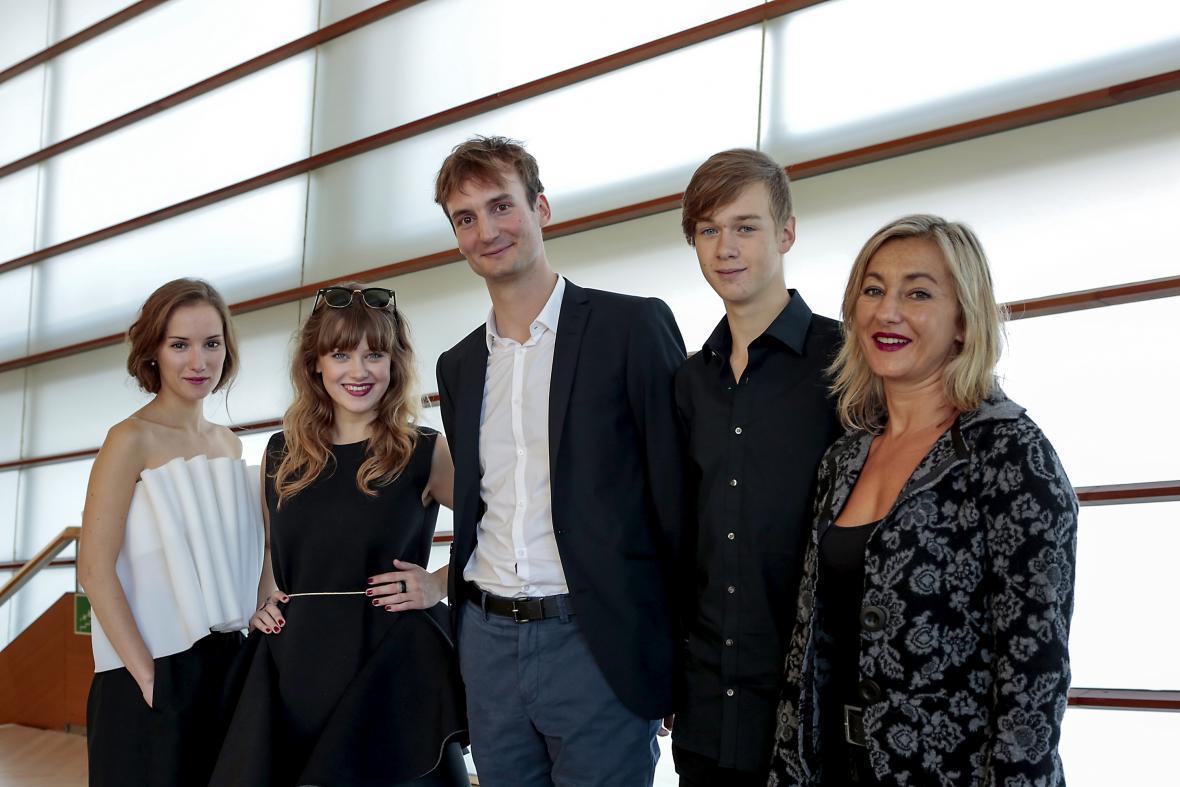 Delegace k Rodinnému filmu na festival v San Sebastiánu