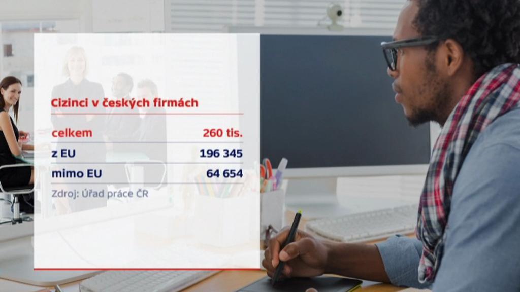 Cizinci v českých firmách