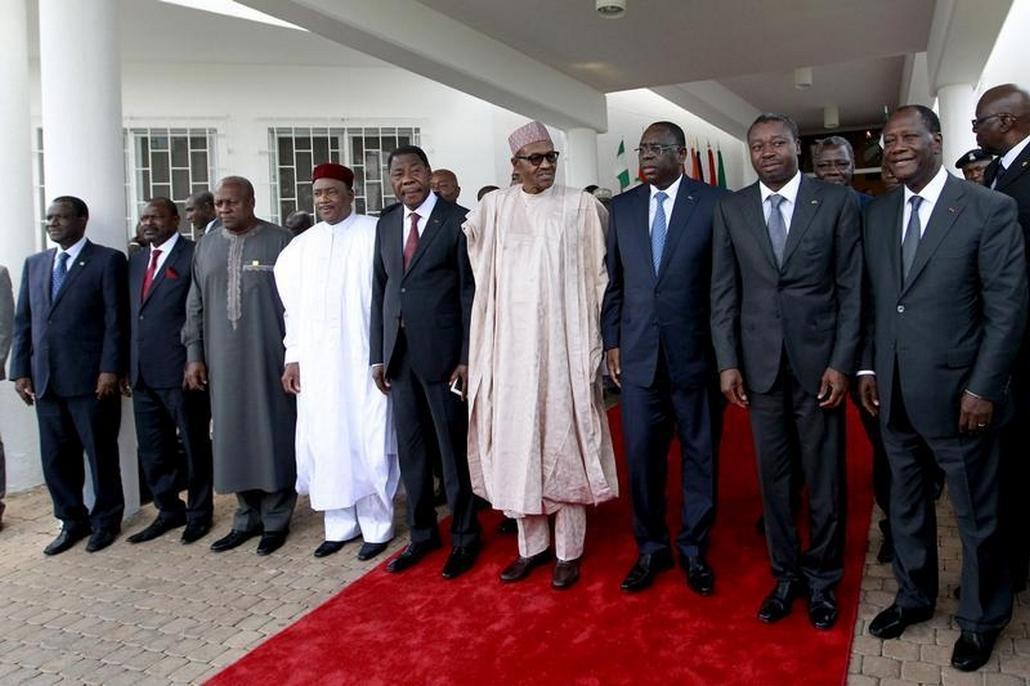 Lídři států západoafrického hospodářského společenství