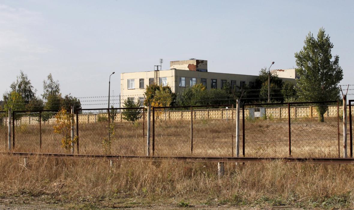 Starý zbrojní sklad v Bogučaru, kde má vzniknout nová ruská vojenská základna