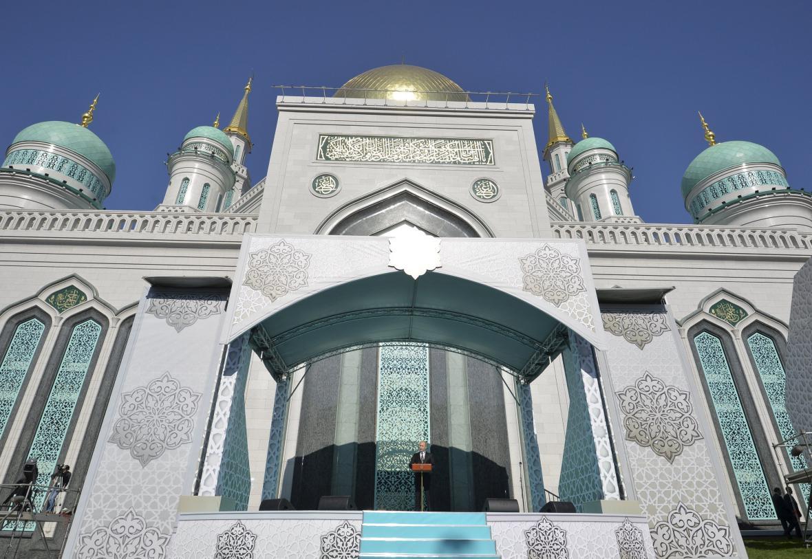 Obnovená moskevská mešita