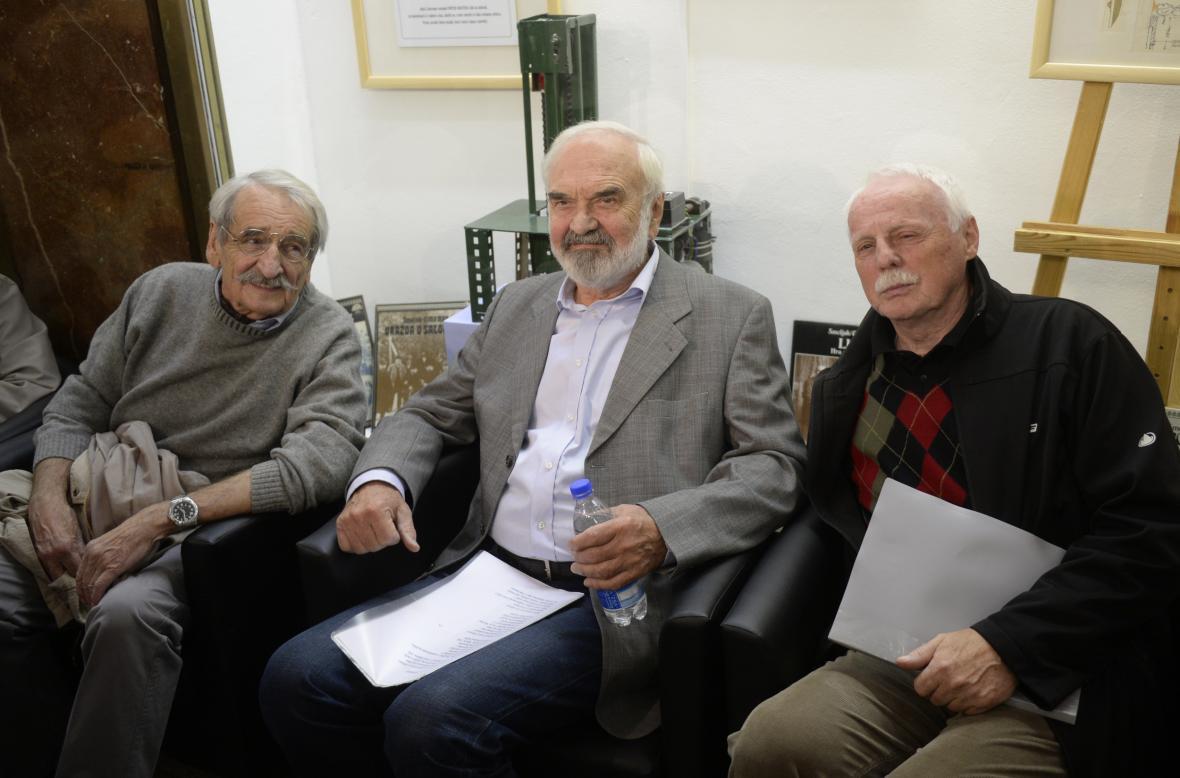 Jaroslav Weigel, Zdeněk Svěrák a Petr Brukner