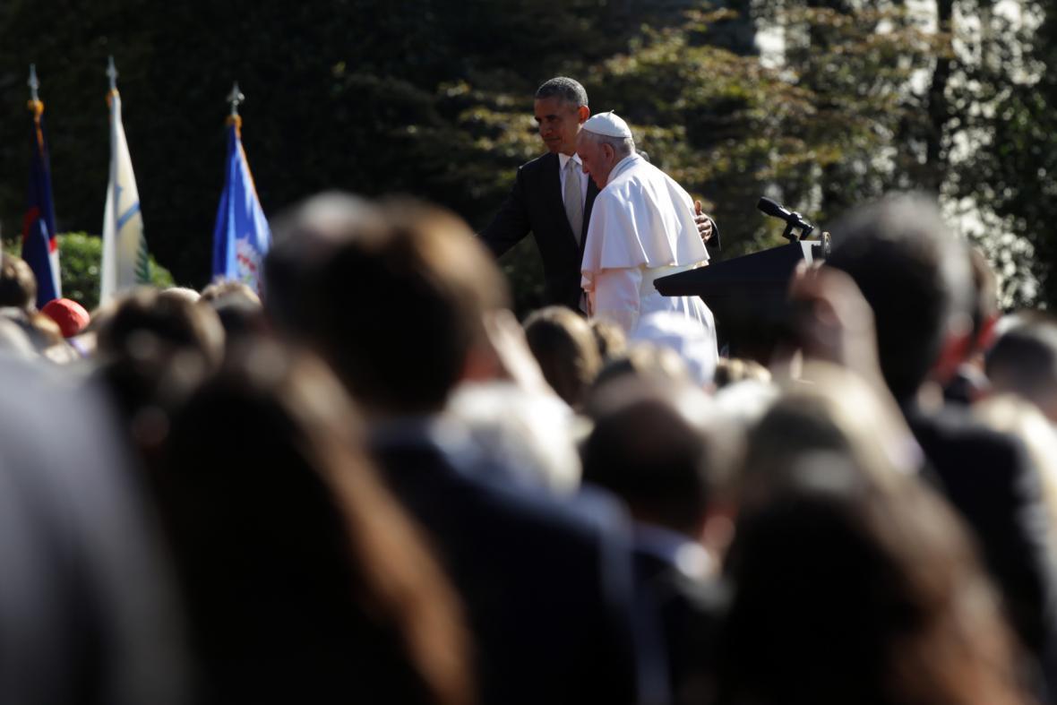 Návštěva papeže Františka v USA