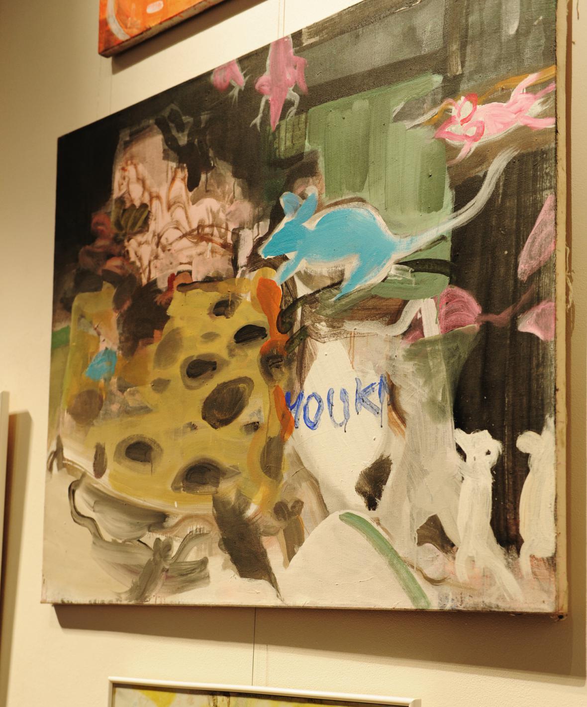 Vernisáž obrazů Vladimíra Franze v galerii Mánes