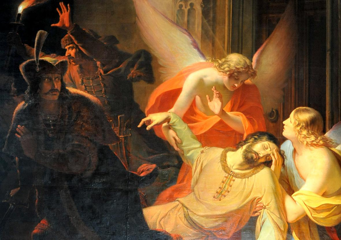 Obraz Zavraždění svatého Václava od Antona Pattera