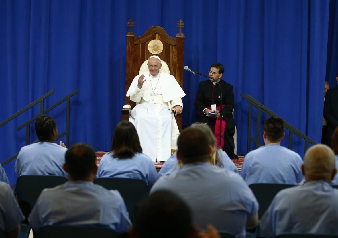 Papež František na návštěvě USA