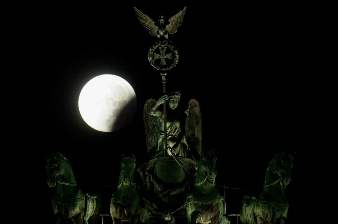 Superměsíc v Berlíně