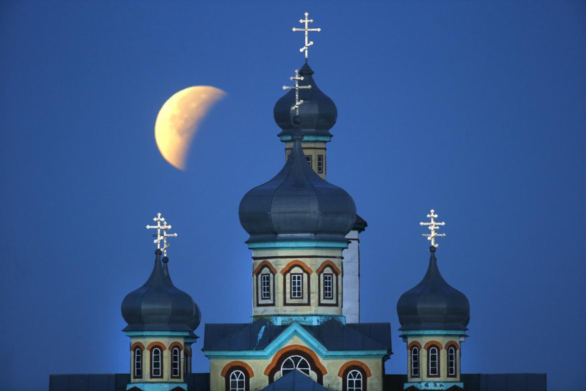 Superměsíc v Bělorusku