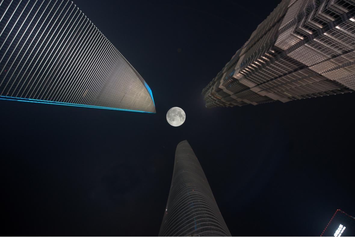 Superměsíc v Číně