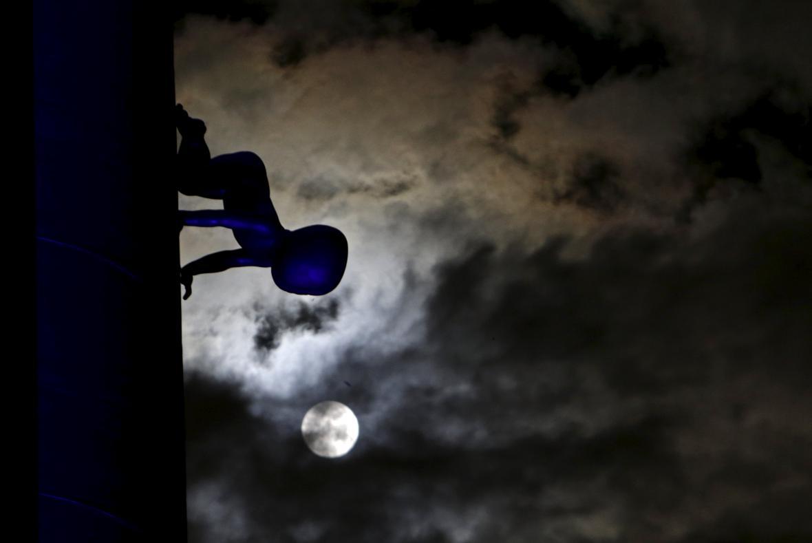 Superměsíc v Praze