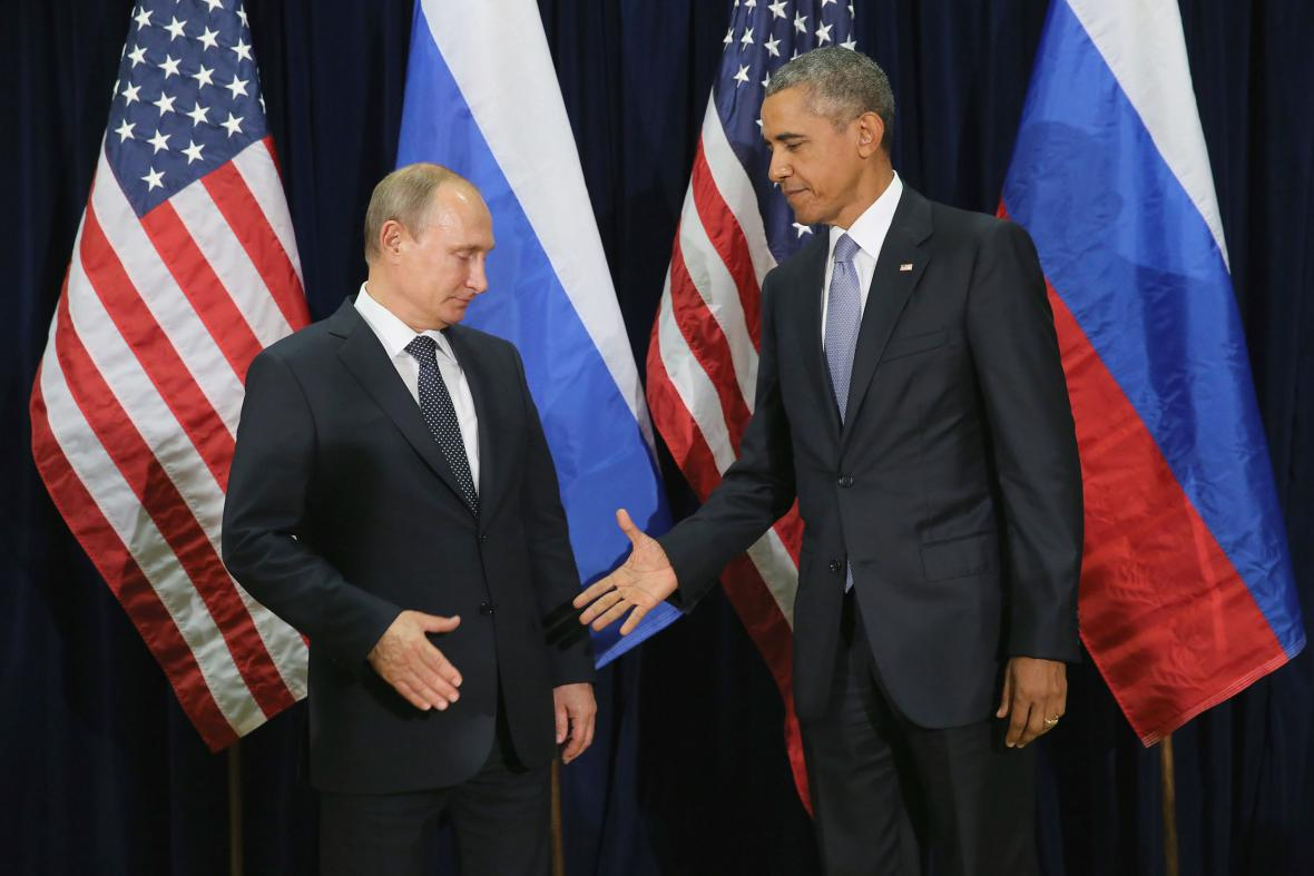 Prezidenti Ruska a USA: Vladimir Putin a Barack Obama