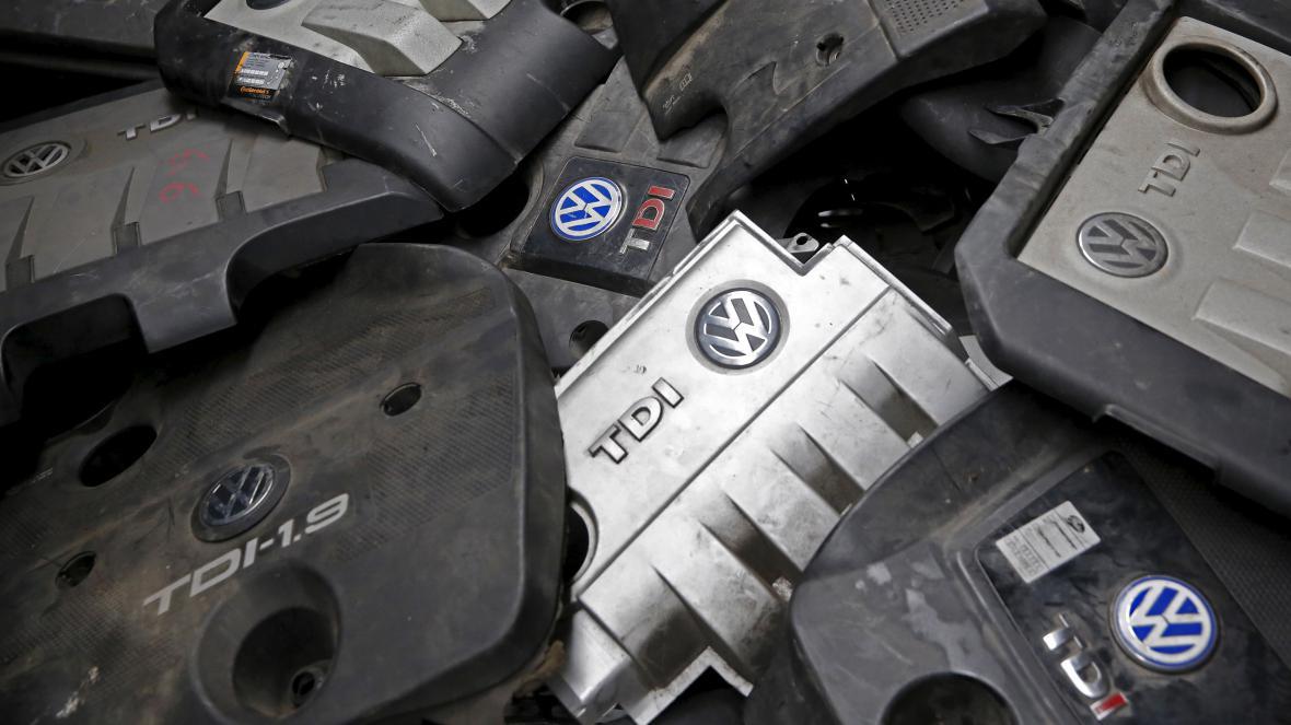 Kryty dieselových motorů Volkswagenu