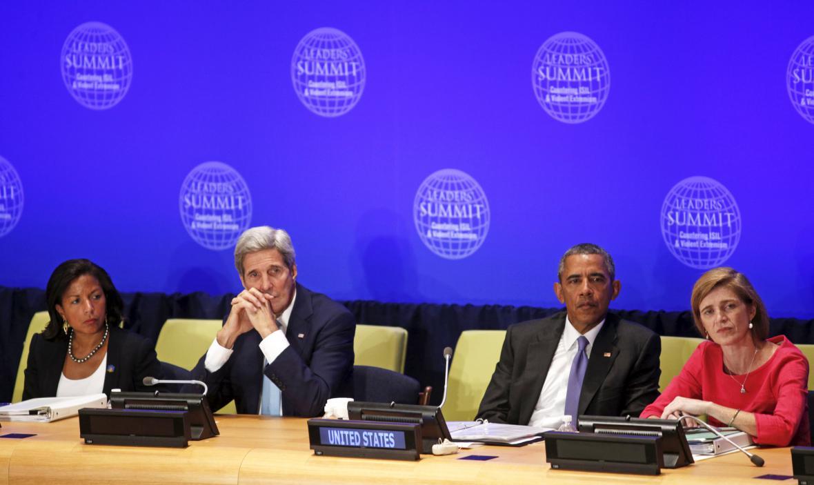 Barack Obama na summitu o boji s terorismem