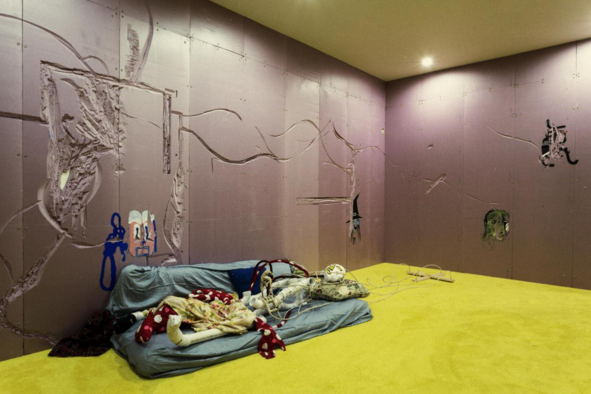 Instalace Renauda Jereze v New Yorku (2015)