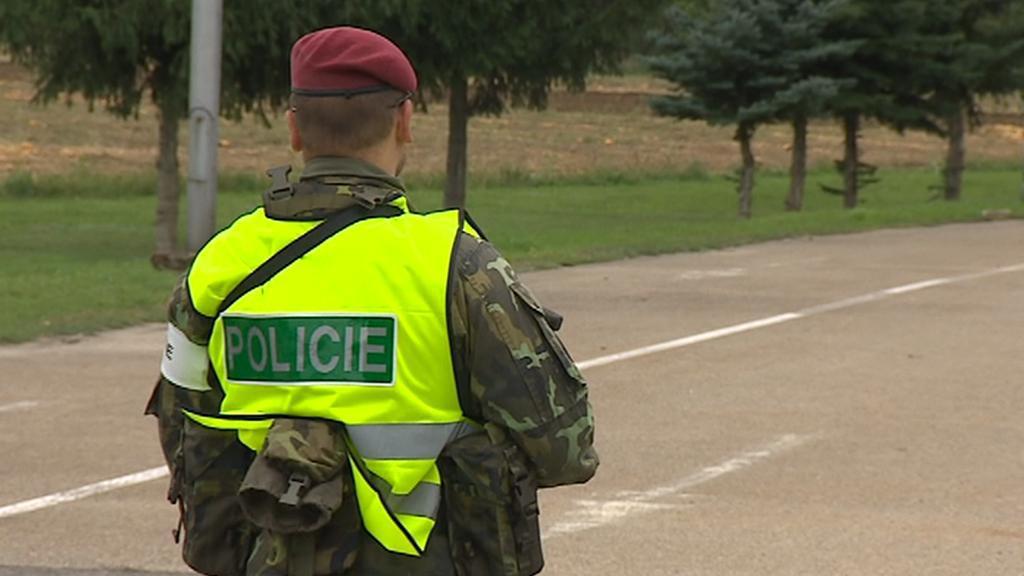 Pohraniční cvičení armády a policie