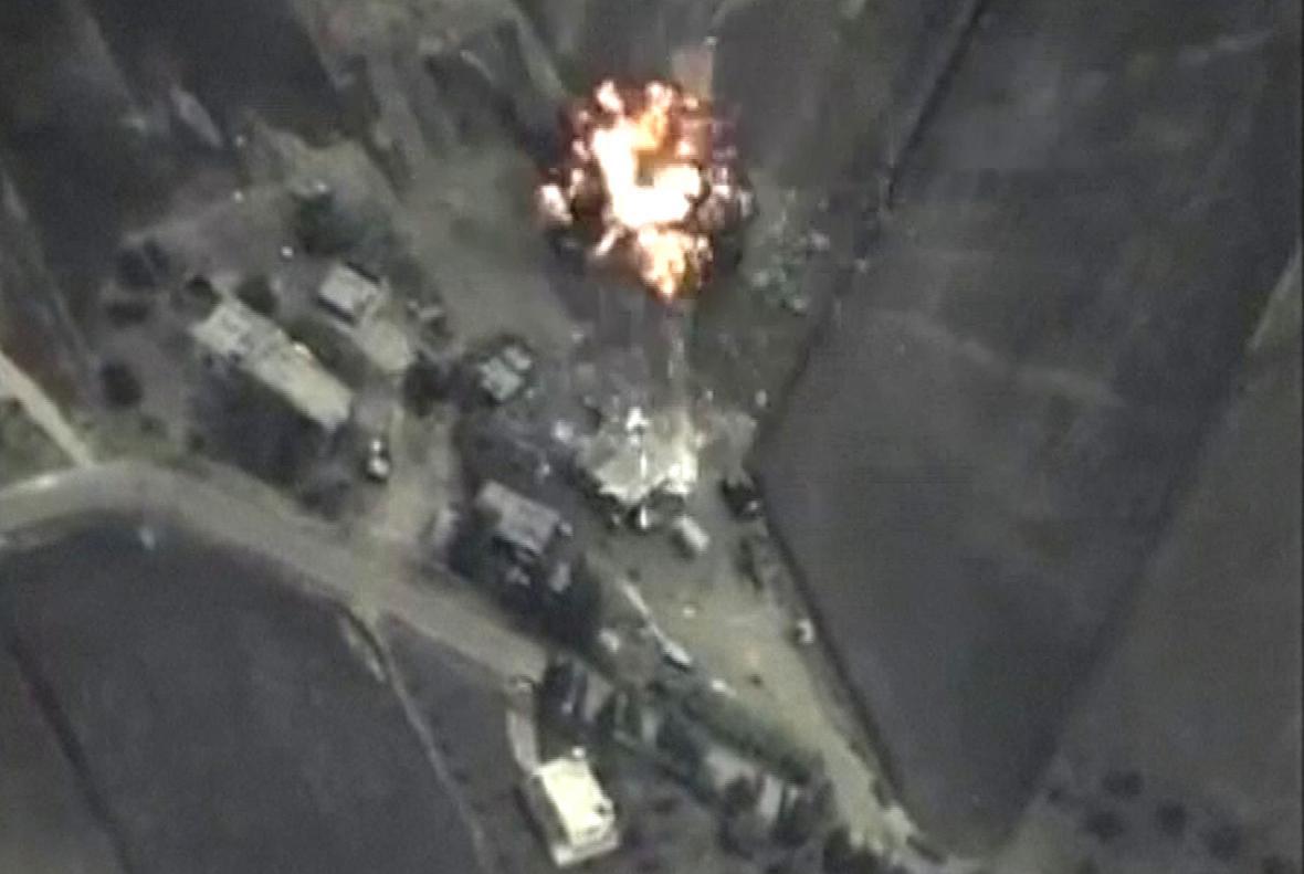 Ruské nálety v Sýrii