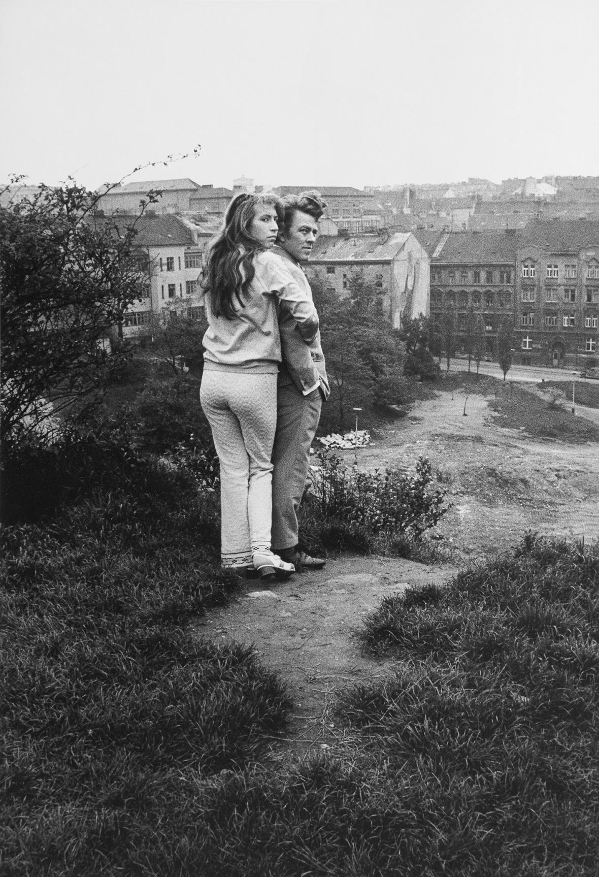 Pavel Štecha / Praha, 1972, z cyklu Žižkov