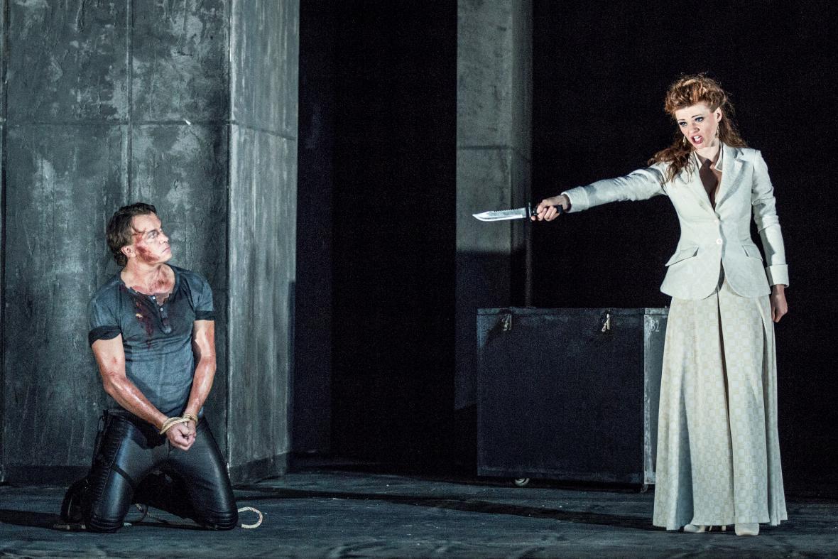 Z opery Norma (Aleš Briscein, Marie Fajtová)
