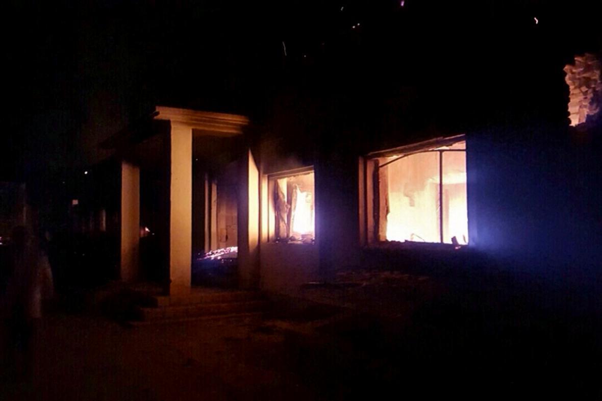 Nemocnice MSF v Kunduzu po bombardování