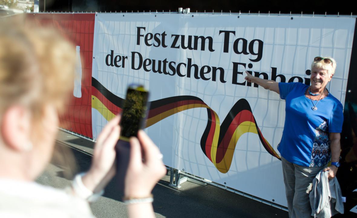 Oslavy 25. výročí Německého znovusjednocení