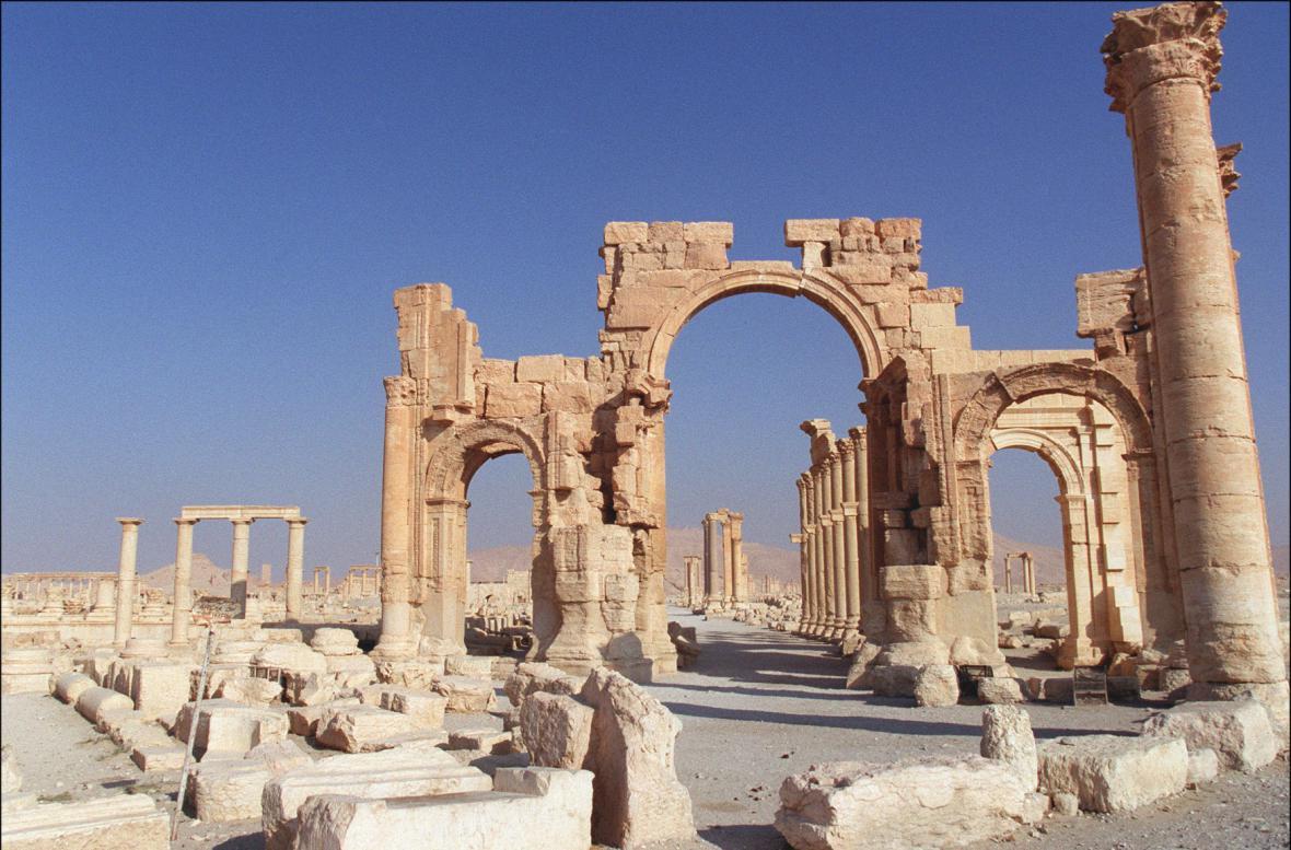 Vítězný oblouk v Palmýře