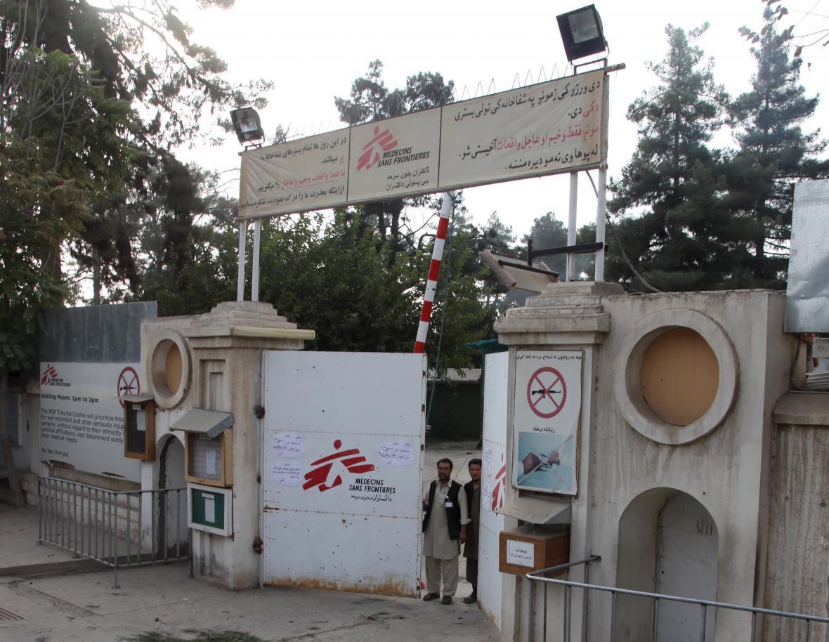 Nemocnice Lékařů bez hranic v Kunduzu