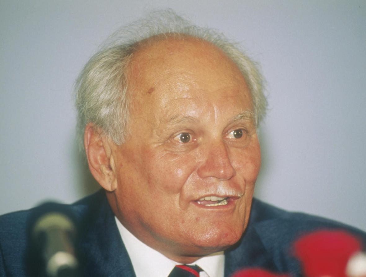 Bývalý maďarský prezident Arpád Göncz