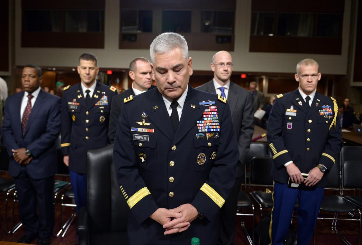 Šéf amerických sil v Afghánistánu na slyšení v Kongresu