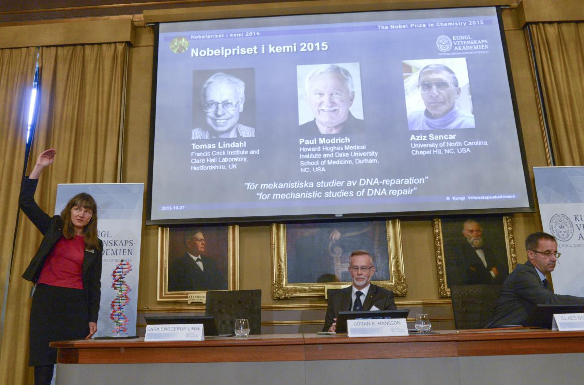 Chemici ocenění Nobelovou cenou za chemii
