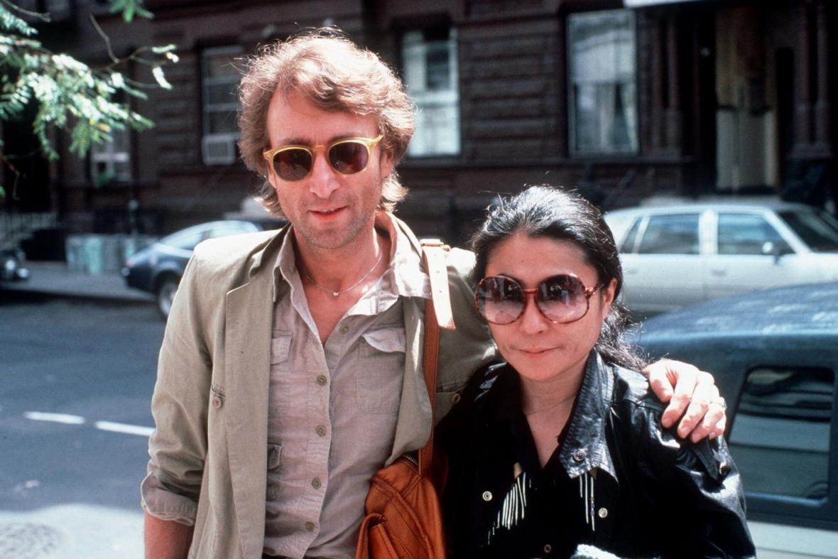 John Lennon a Yoko Ono, 1980