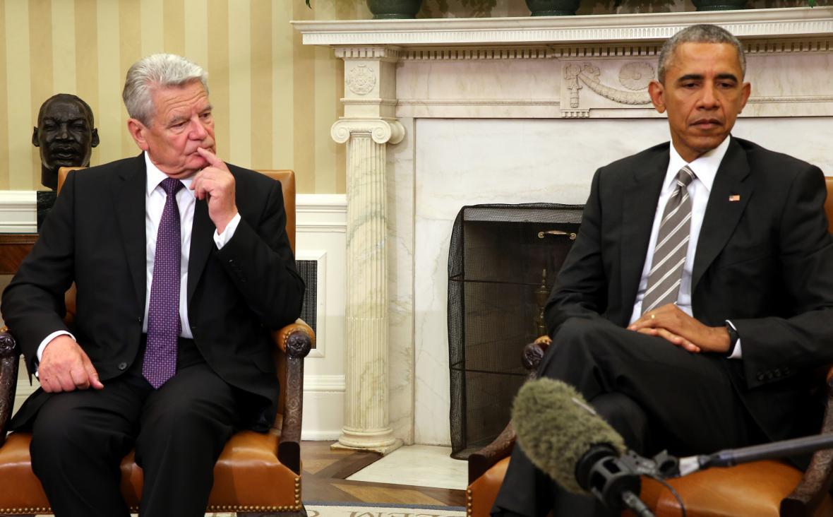 Joachim Gauck a Barack Obama
