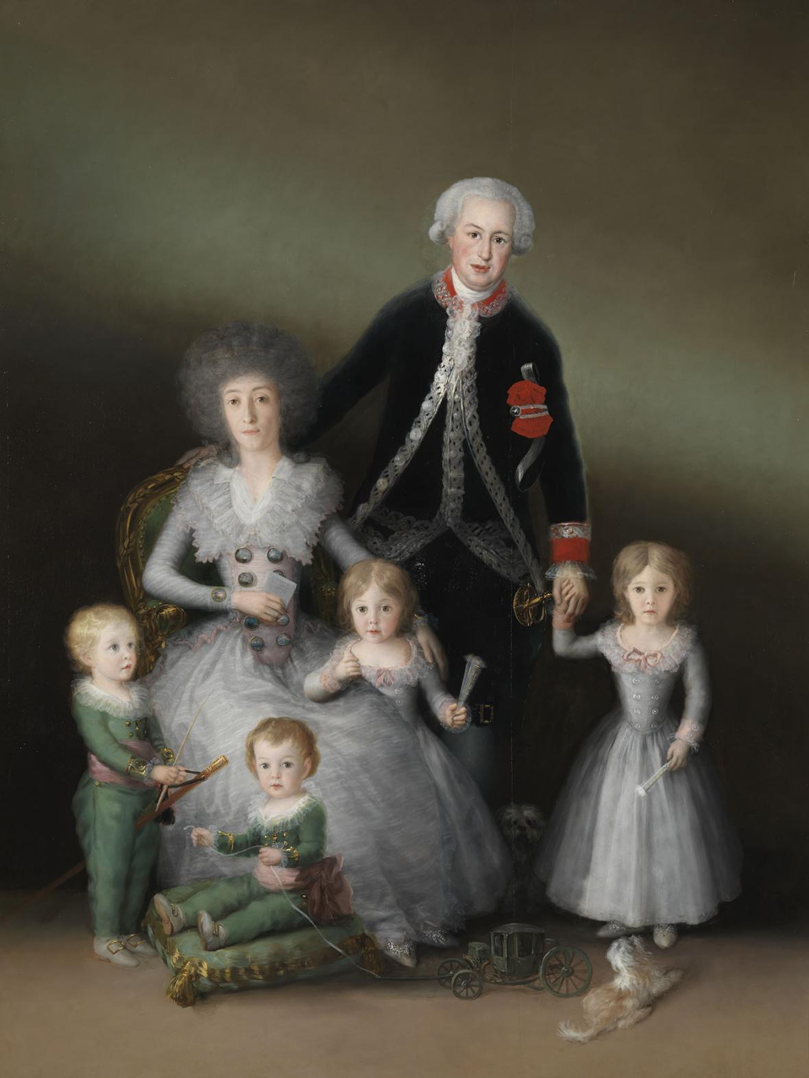 Francisco Goya / Vévoda a vévodkyně z Osuny a jejich děti