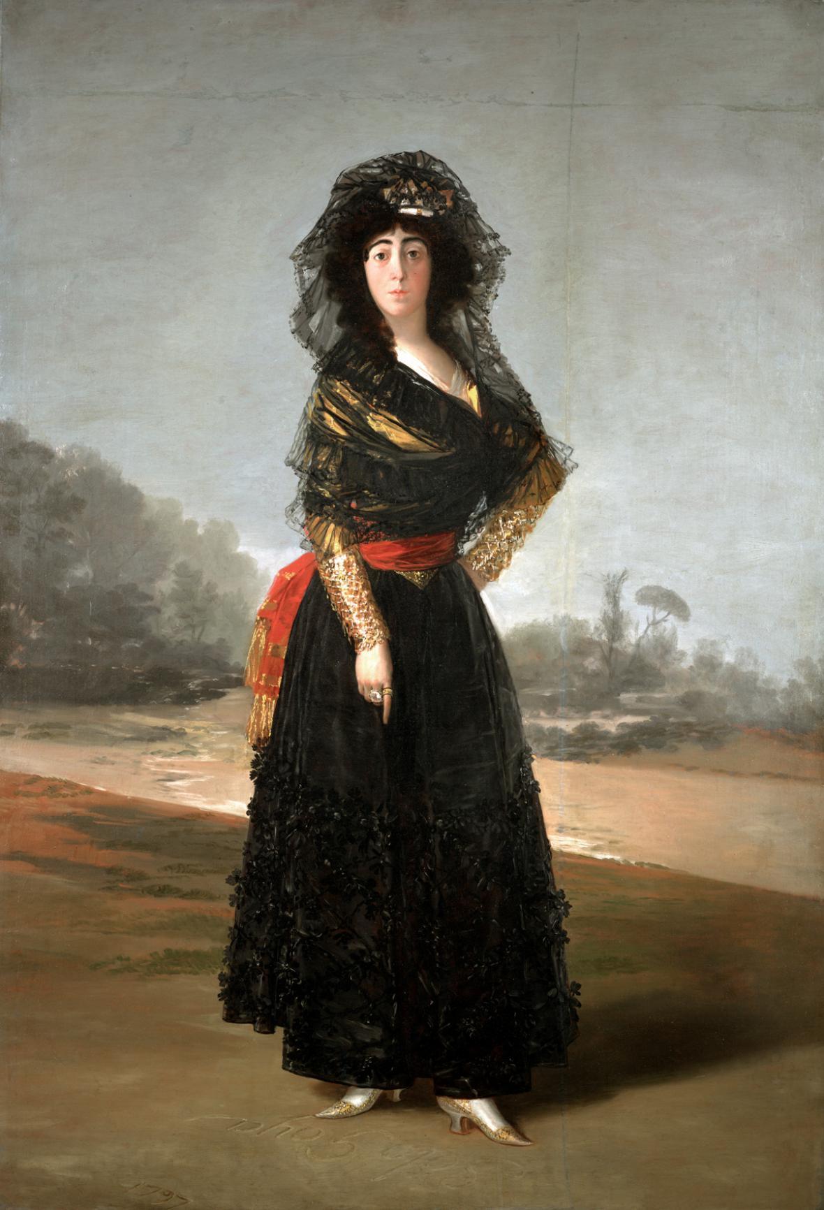 Francisco Goya / Vévodkyně z Alby