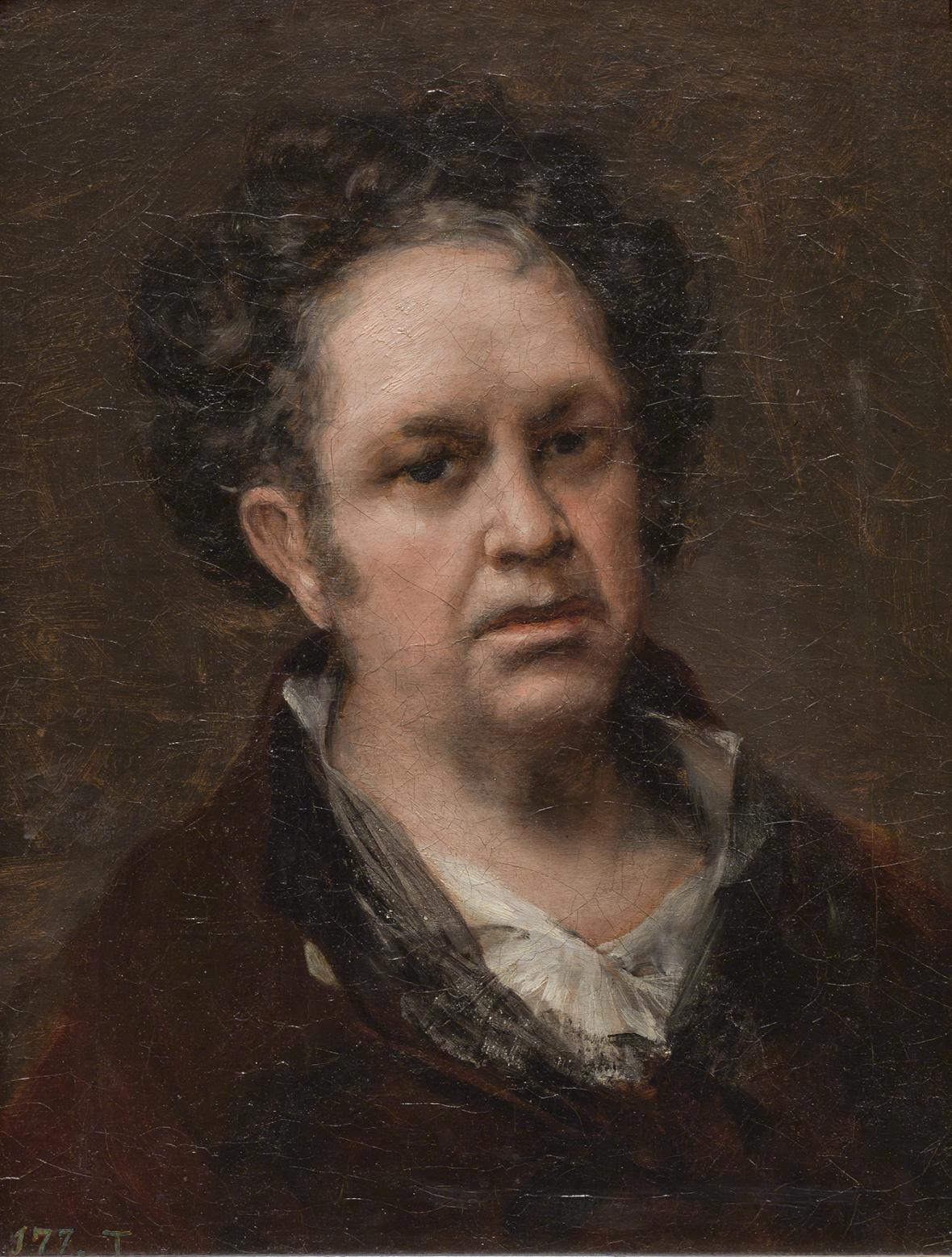 Francisco Goya / Autoportrét