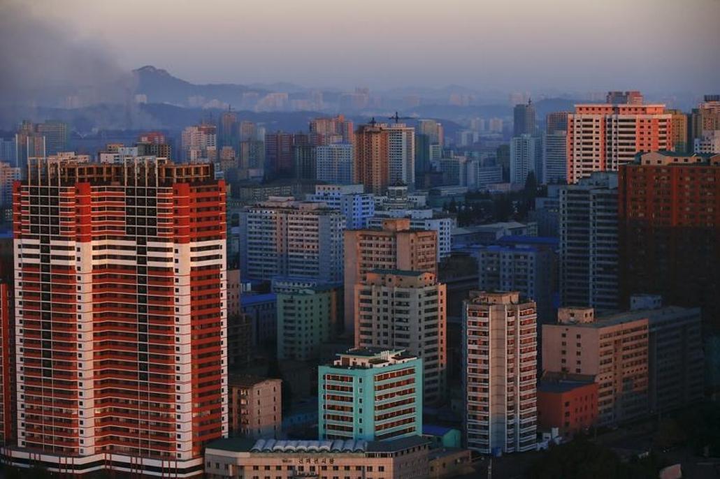 Panorama Pchjongjangu