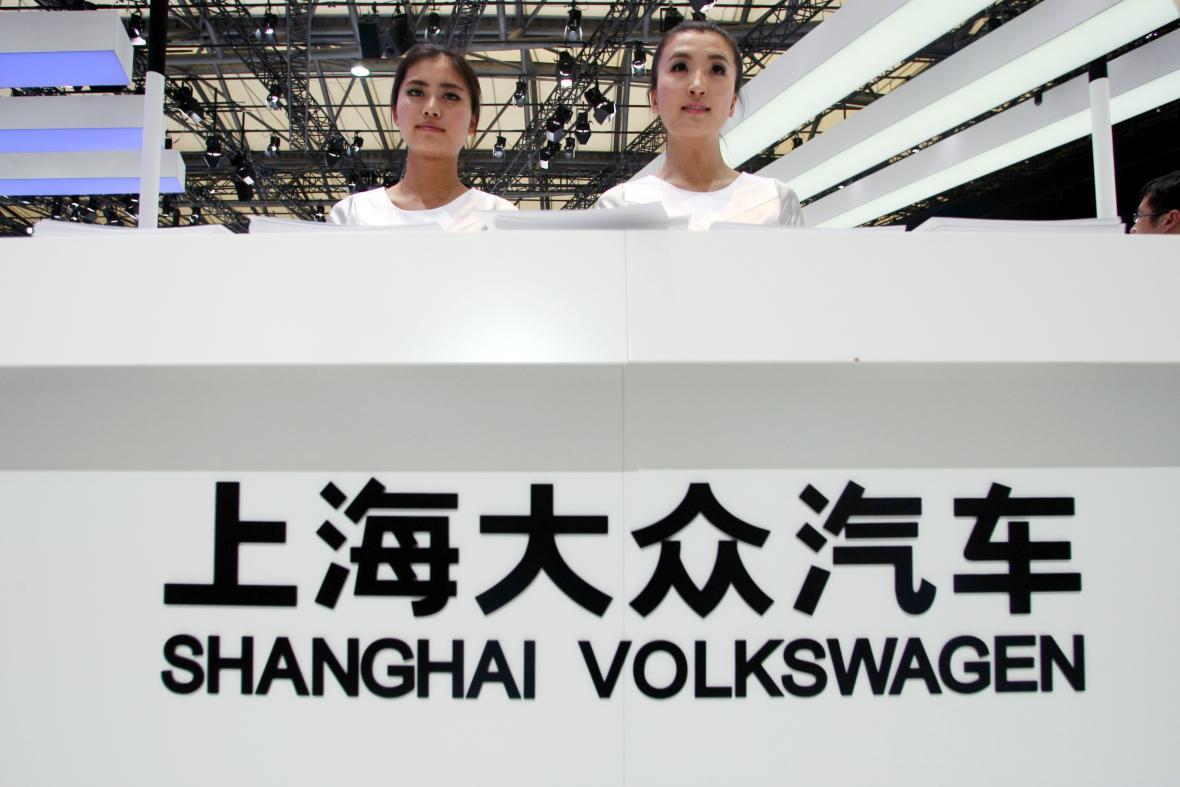 VW v Číně