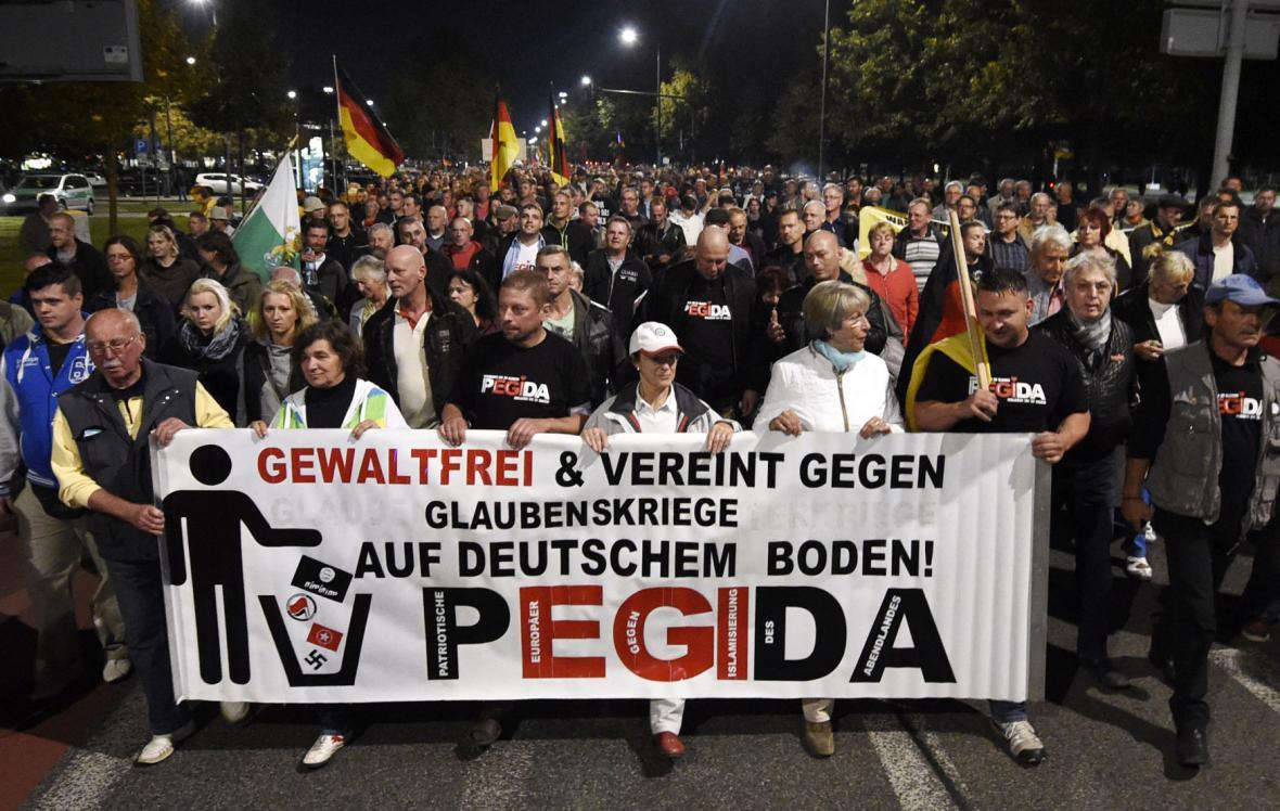 Demonstrace Pegidy