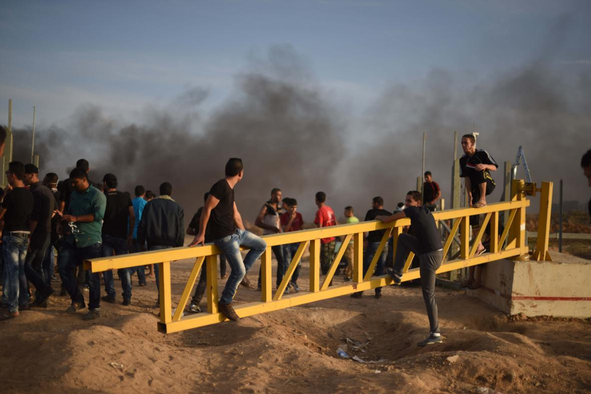 Nepokoje u Pásma Gazy