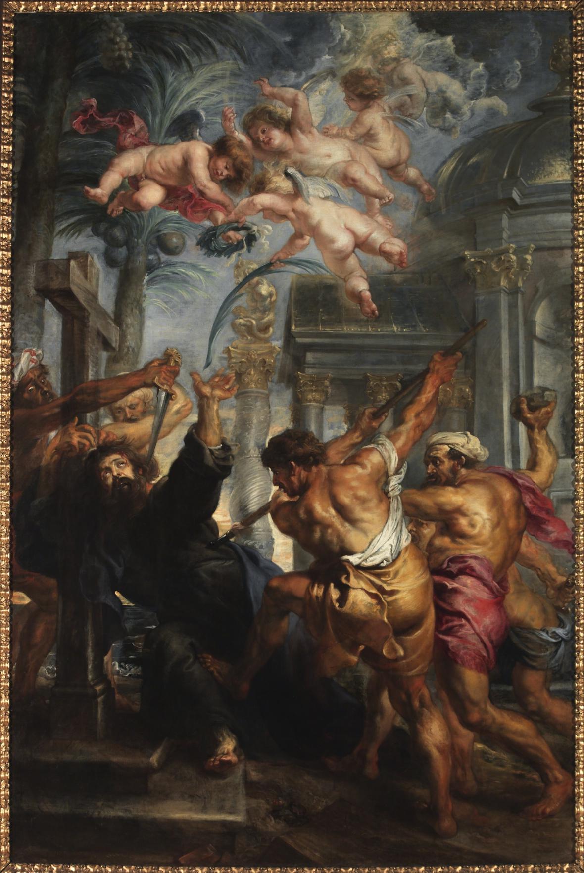 Peter Paul Rubens / Umučení sv. Tomáše, kolem 1636–1638