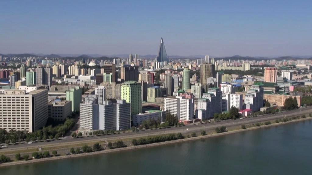 Panorama Pchjongjangu po faceliftu